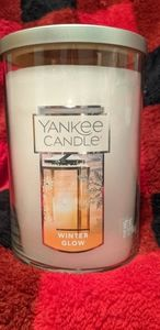 """New Yankee Candle """"Winter Glow"""" Scent"""